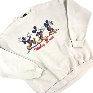 Vintage Disney Mickey Mouse Sweatshirt Medium